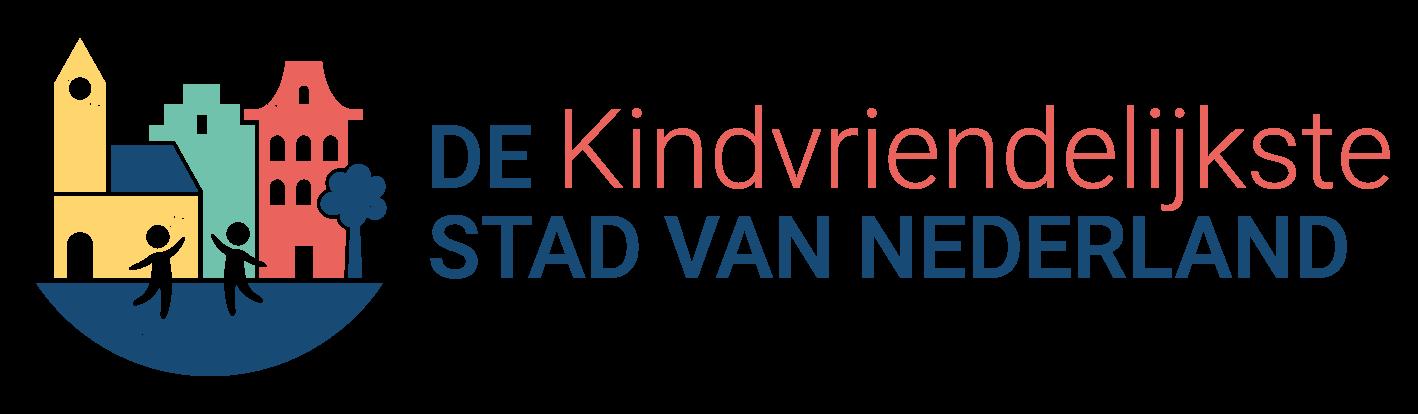 De Kindvriendelijkste Stad van Nederland - Logo